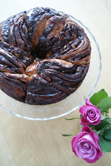 chocolate krantz cake-3