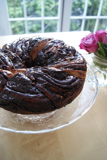 chocolate krantz cake-2