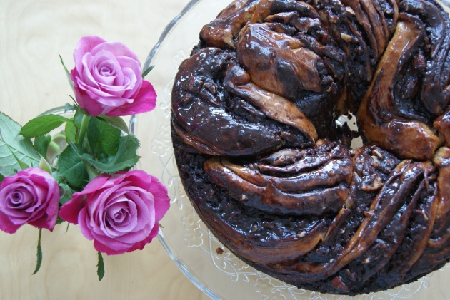 chocolate krantz cake-1
