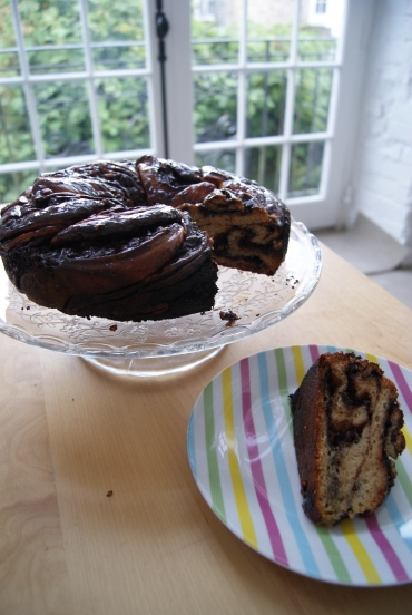 chocolate krantz cake-4